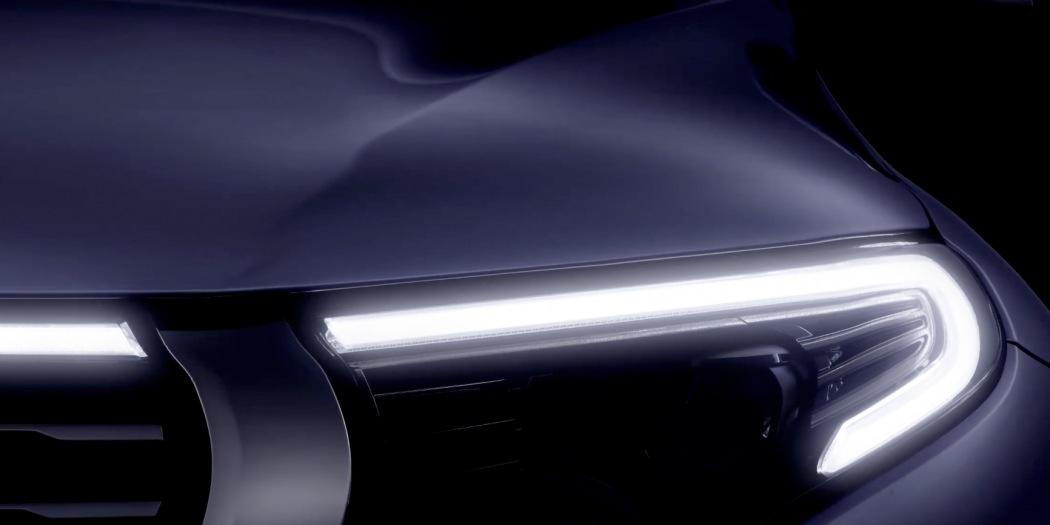 Este es el interior del nuevo Mercedes EQ C