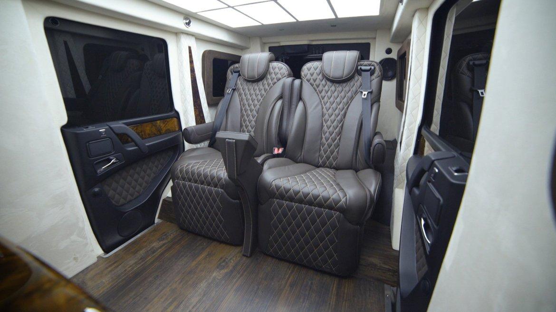 ¿Te gastarías un millón de euros en el Mercedes-Benz G 63 AMG de Inkas Armored?