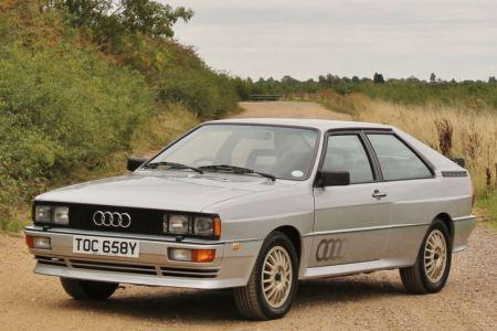 Ahora puedes hacerte con uno de las doce unidades de pre-producción del Audi Quattro de 1982
