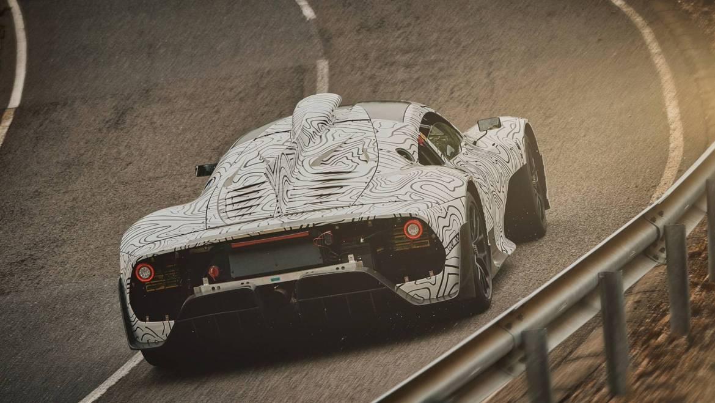 Mercedes AMG ONE: nuevas imágenes oficiales