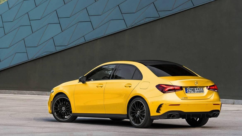 Mercedes-AMG A 35 Sedán: tendrá este aspecto... ¡y lo veremos pronto!