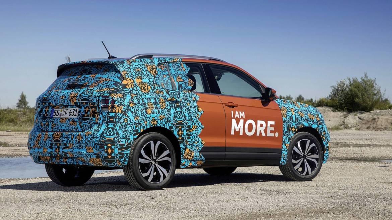 Nuevo anticipo oficial del Volkswagen T-Cross: a punto de debutar