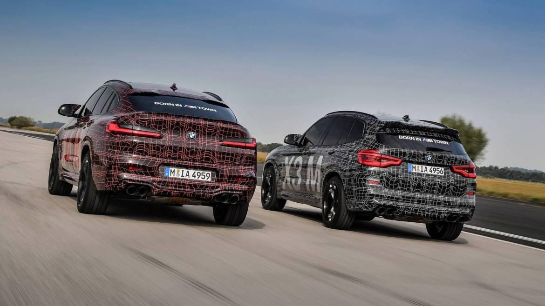Ya casi están aquí: nuevos BMW X3 M y X4 M, imágenes oficiales