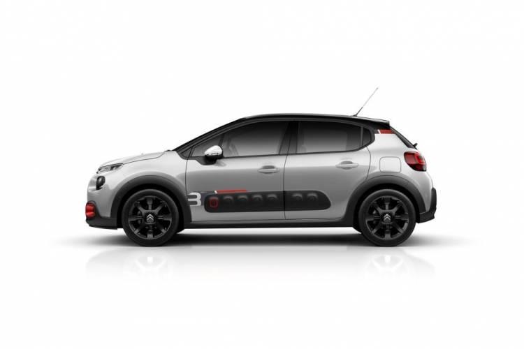 Citroën C3 RAC3 Edition: Edición especial con inspiración en la competición