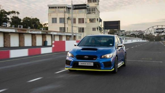 Subaru WRX STi 2019 Diamond Edition: 30 unidades para el STi más potente