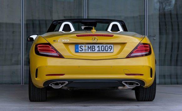 Mercedes SLC Final Edition: El descapotable biplaza se despide con homenajes
