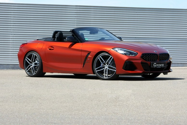 El BMW Z4 M40i de G-Power llega hasta los 500 CV: Ahora no echarás en falta el Z4 M... ¿o sí?