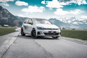 El Volkswagen Golf GTI TCR llega a los 340 CV gracias a ABT