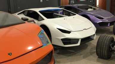 Las autoridades brasileñas cierran una fábrica dedicada a producir réplicas de Ferrari y Lamborghini