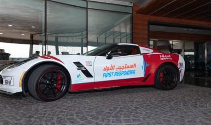 El servicio de ambulancias de Dubái incorpora un Nissan GT-R y un Corvette C7 Grand Sport