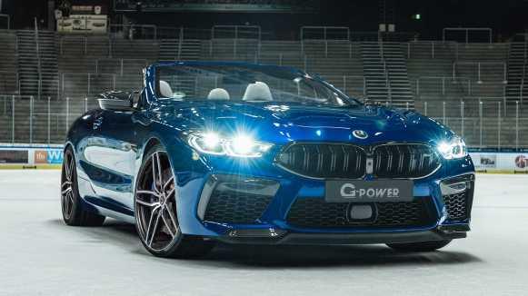 G-Power eleva la potencia del BMW M8 hasta los 820 CV