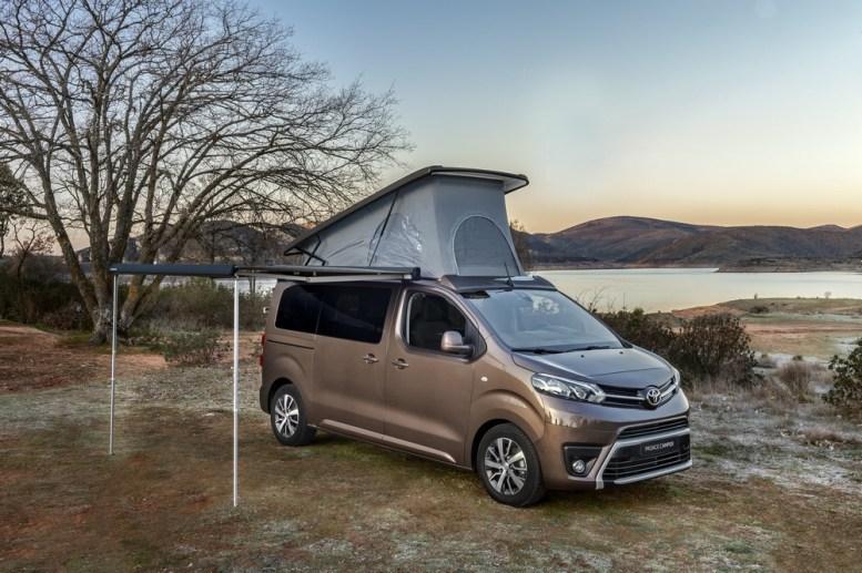 Toyota Proace Verso Camper: Ahora con una versión más equipada