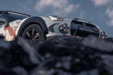 Ahora puedes hacerte con este Nissan GT-R offroad