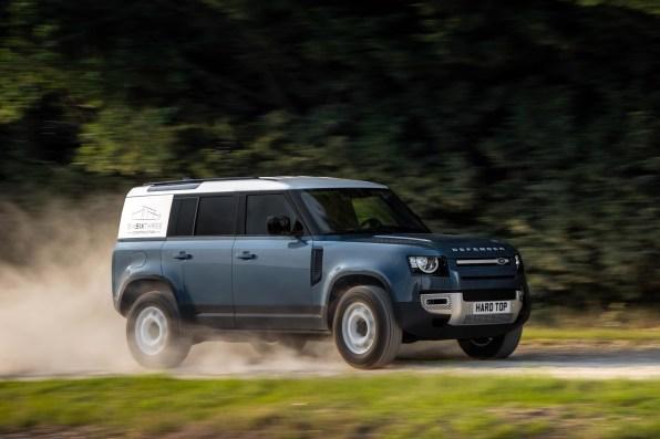 Land Rover Defender «Hard Top»: Así luce la variante comercial