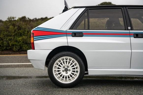 Este Lancia Delta Integrale Martini 5 Evoluzione con matrícula española se ha subastado: ¿cuánto han pagado por él?