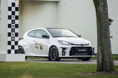 El Toyota GR Yaris muestra sus credenciales en Goodwood: un coche sin rival