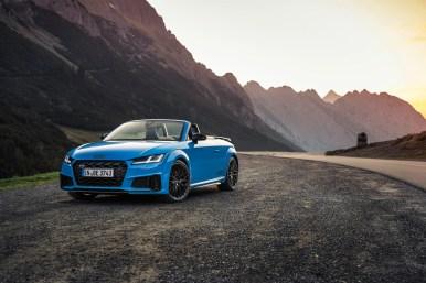 Audi TTS competition plus 2021: ahora con más potencia, 320 CV