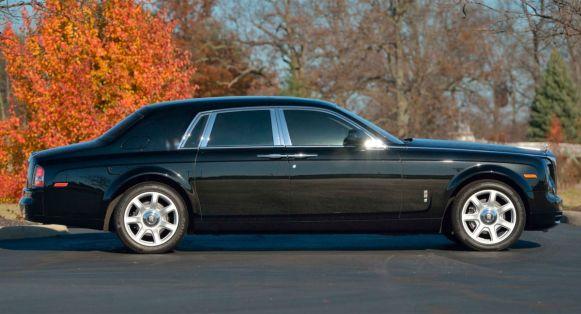 Este Rolls-Royce Phantom perteneció a Donald Trump y ahora puede ser tuyo