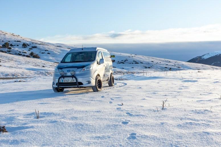 Nissan e-NV200 Winter Camper: Furgoneta camper eléctrica pensada para condiciones extremas