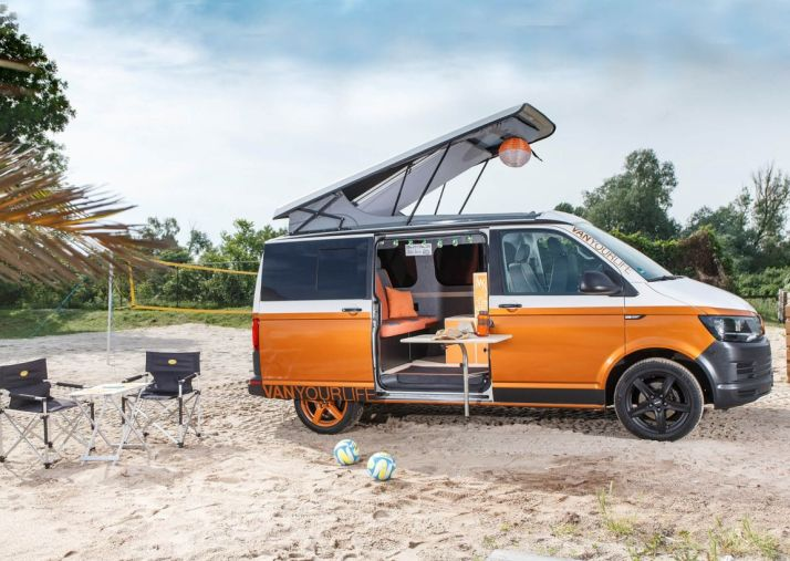 Flowcamper Casper: Una vuelta de tuerca a la Volkswagen T6