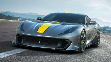 Así es la serie limitada del Ferrari 812 Superfast: Una vuelta de tuerca al motor V12
