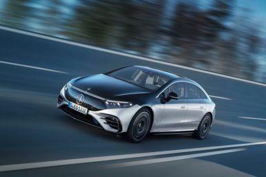 Mercedes-Benz EQS 2021: El buque insignia con hasta 770 kilómetros de autonomía