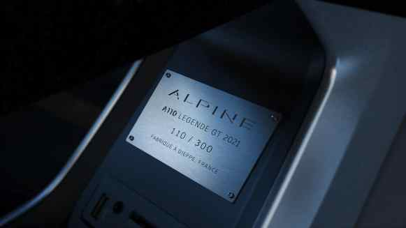 Alpine A110 Légende GT 2021: 300 unidades para Europa
