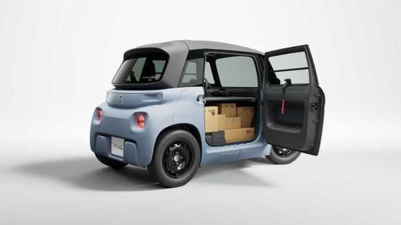 Citroën My Ami Cargo: Un eléctrico para reparto urbano por menos de 8000 euros