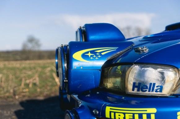 El Subaru Impreza WRC de Richard Burns sale a subasta: Un icono de los rallyes