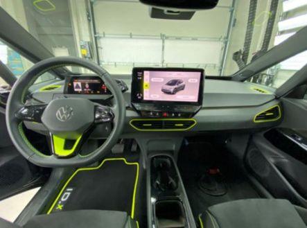 Volkswagen ID.X Concept: Más potente que el Golf R