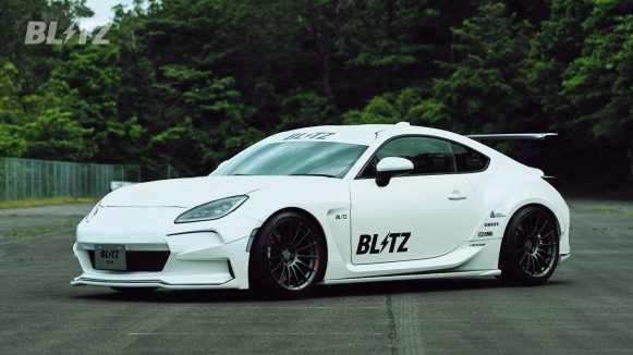 """El Toyota GR 86 preparado por Blitz viene con un aire """"macarra"""""""