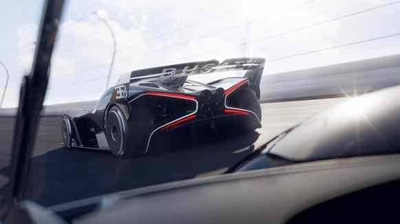 El Bugatti Bolide llegará a producción: Será sólo para circuitos
