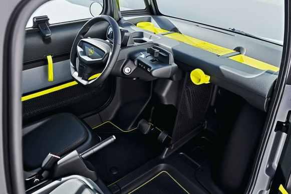 El Opel Rocks-e es un Citroën AMI relogotipado