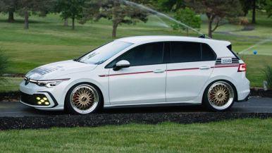 Volkswagen Golf GTI BBS Concept: Un guiño al Golf Mk2