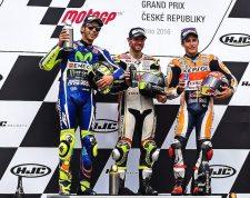 MotoGP Brno Podio