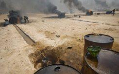 syria oil attack