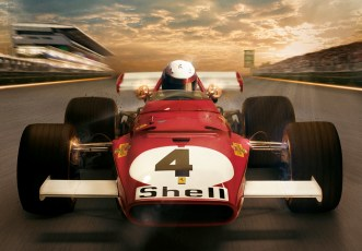 Ferrari 312b poster