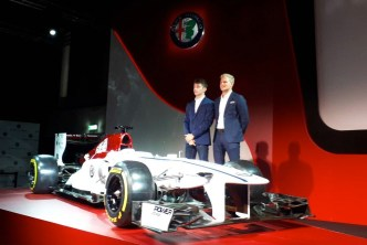 Alfa Sauber F1 e piloti