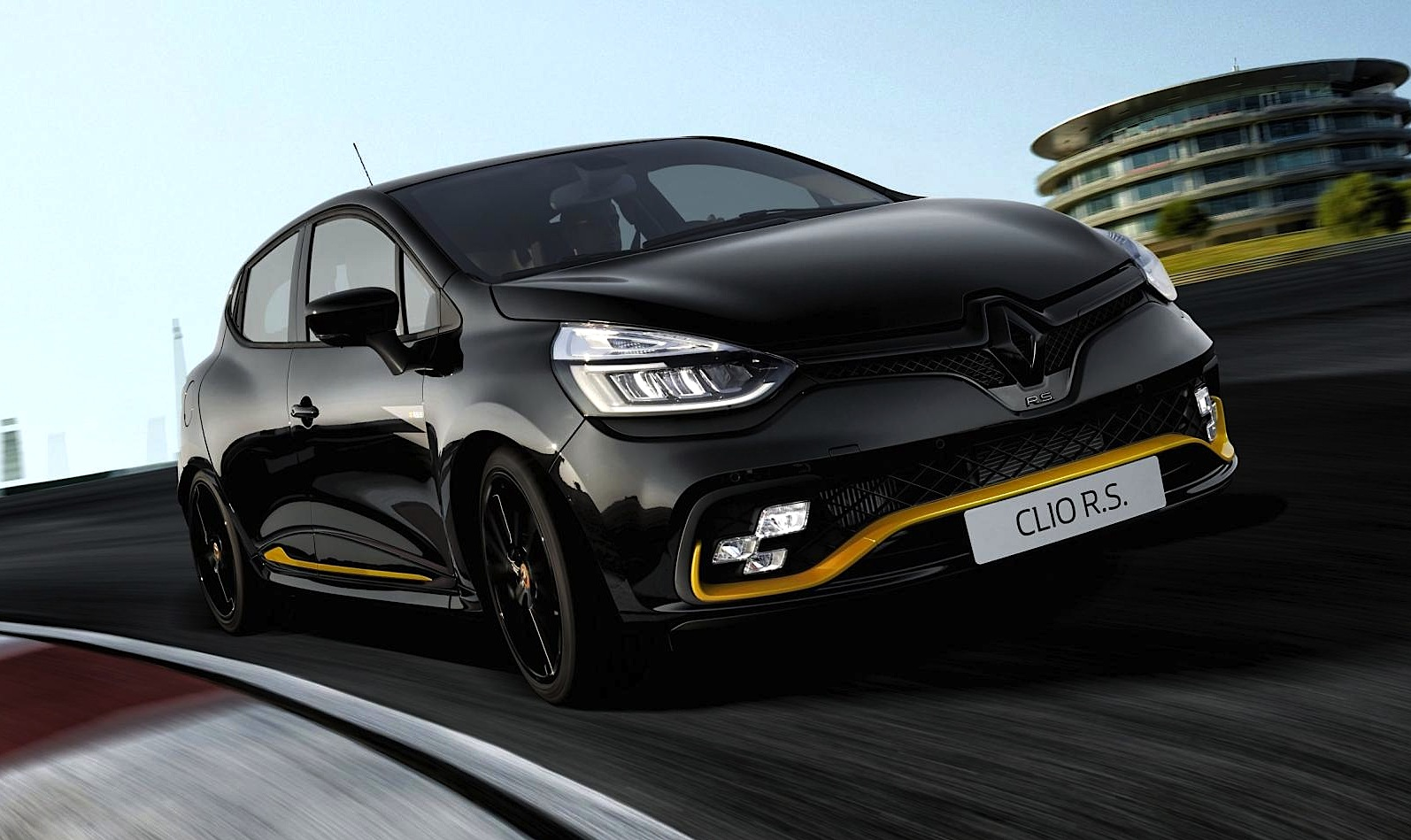 renault clio r s 18 look da formula 1 motorage new generation. Black Bedroom Furniture Sets. Home Design Ideas