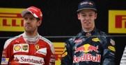 Vettel e Kvyat
