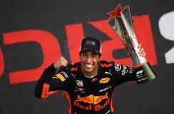 Esulta Ricciardo