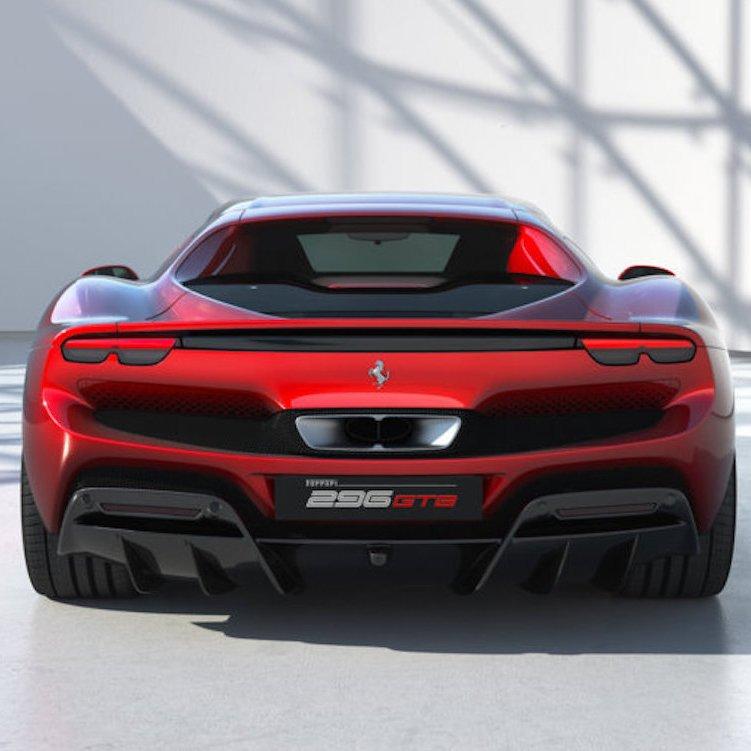Ferrari 296 GTB è la più recente evoluzione del concetto di berlinetta sportiva a 2 posti