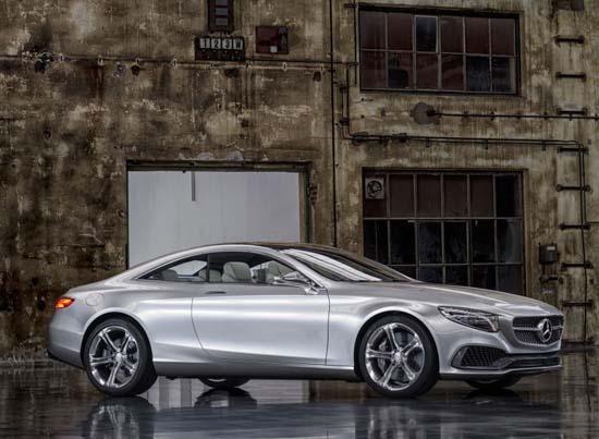 Detroit concept s class coupé motorage new generation