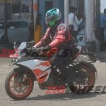 Ktm Rc 125 Spied On Test In India Motorbeam Com