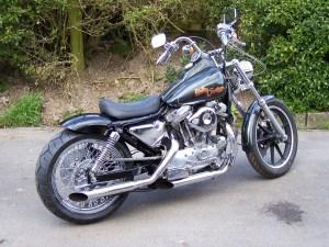 Chelsea Kane Buzz: 1987 Harley Davidson XLH