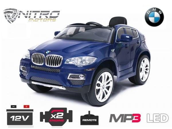 Auto Elettrica Per Bambini Bmw X6 Nitro Motors Miglior Qualità
