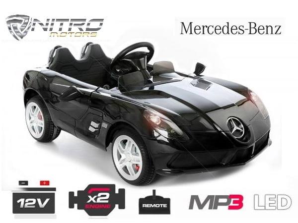 Auto Elettrica Per Bambini Mercedes Benz Slr Mclaren Moss Nitro