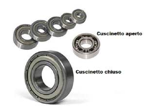 CUSCINETTO A SFERE 6301 RS 37x12x12 per minimoto e Mini quad