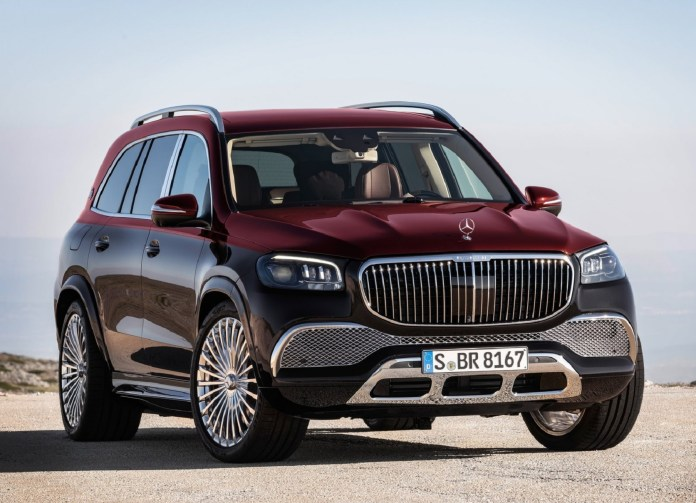 The 2021 Mercedes Maybach Gls 600 Is The Most Expensive American Made Factory Suv