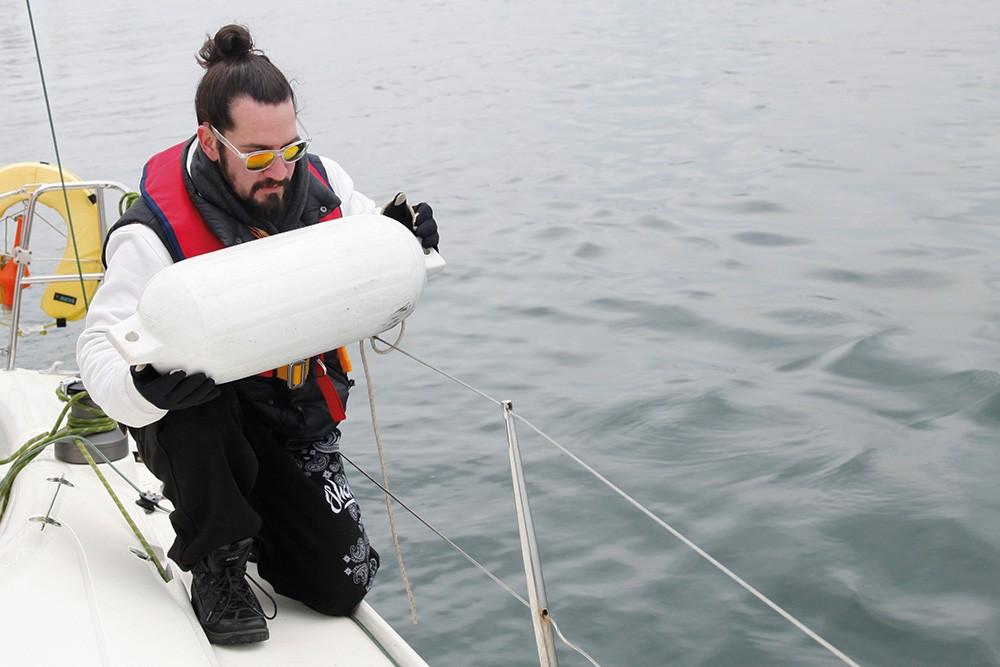 Survivor Doğukan Manço denizde